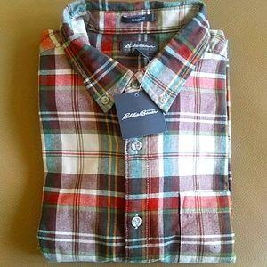 ✨HOST PICK✨ NWT Eddie Bauer Men's L Flannel Shirt